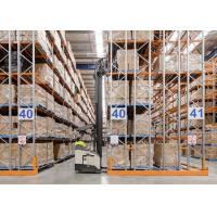 Quality Logistic equipment heavy duty storage double deep pallet racks wholesale