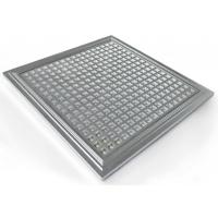 Quality IP65 Hydroponic Dimmable LED Grow Lights PPMA Cover , 300*300*10mm wholesale