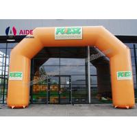Quality Inflatable Entrance Arch Inflatable Starting Line Arch 0.45mm Pvc Trapurlin wholesale
