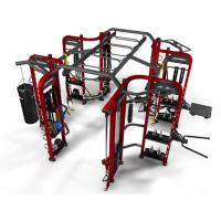 Quality Bodybuilding 360 Gym Equipment , Strength Training Machines Adjustable Plate Loaded wholesale