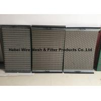 Quality Light Weight Shale Shaker Mesh Screen , Flat / Pinnacle Shaker Screens Manufacturers wholesale