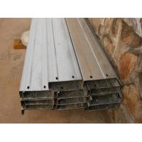Quality Automatic Drilled Holes Steel Building Purlins , Cold Rolled Steel C Purlin  wholesale