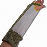Quality Cow Split Leather Arm Sleeve with Velcro Protection, CE-certified wholesale