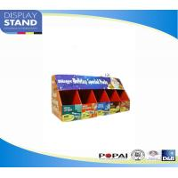 China Supermarket Corrugated Cardboard Packaging Boxes , Candy POP Cardboard Displays on sale