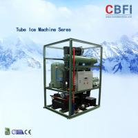 Quality 5000kg Per Day Tube Ice Making Process / Air Cooled Ice Maker CBFI TV50 wholesale