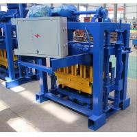 Quality Brick Making Machine Small Cement Manual Hollow Block Making Machine With Mixer 4-40 wholesale