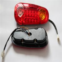 Quality Durable ABC Plastic Automotive LED Tail Lights For Jeep Yellow Red Color wholesale