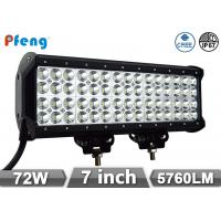Quality 180W Cree Led Light Bar 15 14400 Lumen Quad Row Off Road Light Bar wholesale