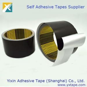 Quality Black Color Aluminum Foil Tape Thermal Insulation Tape Aluminum Foil Tape Black Color Foil Tape wholesale