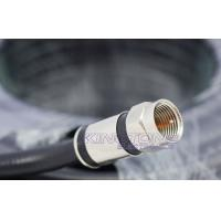 Quality Digital Camera Transmit RG6 CATV Coaxial Cable in 20M with Compression Connector wholesale