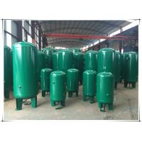 Quality Stable Pressure Air Compressor Receiver Tank , Air Compressor Vertical Storage Tank wholesale