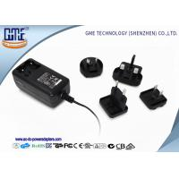 Quality Interchangeable Wall Mounted 24W AC DC Power Adapter With Light wholesale