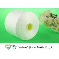 Quality AAA Brand Polyester Spun Yarn Z Twist  Bright On Plastic or Paper Cone wholesale