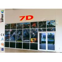Quality Luxurious Decoration 7d Simulator Cinema With HD Projectors Professional Audio wholesale