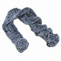 Quality Rabbit fur scarf, customized designs are accepted wholesale