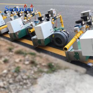 China Steel plate galvanized hot-dip galvanizing line burner on sale