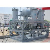 Quality Automatically Mobile Oil Treatment Plant Waste Diesel Fuel Filter Water Separator wholesale