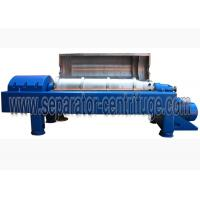 Quality 3 Phase Liquid Liquid Solid Separation Decanter centrifuges Machine Continuous Tricanter Centrifuge wholesale