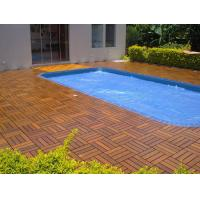 High-end Garden Outdoor IPE Decking Tiles for Hotel or Private Swimming Pools