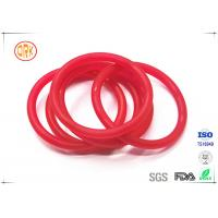 Quality Red Acid Resistance Ageing Resistance EPDM Customized O Ring Shape For Chemical wholesale