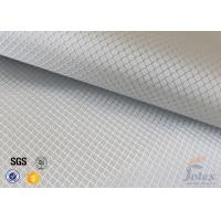 Cheap 0.2MM Fire Resistant Silver Coated / Aluminized Coated Silver Coated Fabric for sale