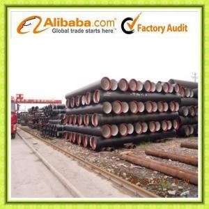 China ISO2531 EN545 EN 598 Ductile Iron Pipeline on sale