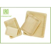 Quality Customized Printed Disposable Wooden Plates Wooden Serving Trays For Hotel wholesale