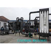 Quality 61.75kw Wood Plastic Production Line Woomiller Specification For Agricultural Stalks wholesale