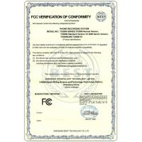 Shenzhen Sourcelight Technology Limited Certifications