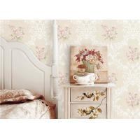 Quality Flowers Damask Printing Concise European Country Style Wallpaper 0.53*9.5M wholesale