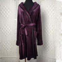 Quality Deep Purple Women Pyjama Set / Sleeping Gown / Bathrobes For Winter wholesale