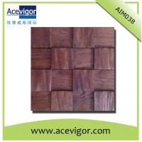 Quality Wall tiles mosaic in antique wood decoration wholesale