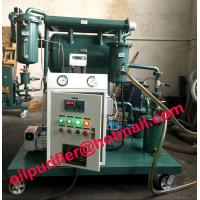 China Used Oil Filtration Plant,Single Stage Vacuum Transformer Insulation Oil Filter Machine with moisture meter Screw pump on sale