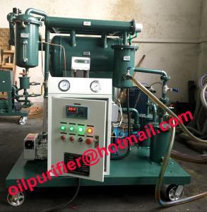 Quality Vacuum Insulation Oil Purifier,Transformer oil purification Unit, clean device, Remove Water, Gas ,Particles, Discolor wholesale