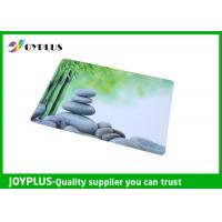 Quality Full Color Print Beautiful Table Mats , Bright Coloured Placemats HKP0110-21 wholesale