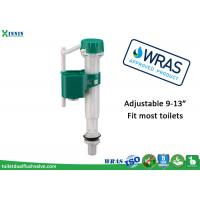 Quality WRAS Universal Toilet Fill Valve Repair , Cistern Bottom Entry Float Valve Replacement wholesale