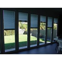 China Commercial Folding Glass Exterior Doors / Aluminium Folding Patio Doors on sale