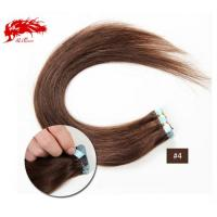 China Ali Queen Tape In Hair color4 Straight Hair Human Hair Extention Color Hair Free Shipping on sale
