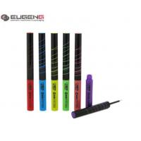 Quality Slim Plastic Empty Eyeliner Container Cylinder UV Printig With White Tip wholesale