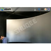 Quality Black And White Genuine Leather 5D Motion Movie Cinema Electronic Hydraulic Pneumatic wholesale