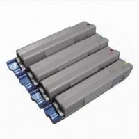 Quality Remanufactured Color Toner Cartridges, 43324424/23/22/21, for OKI C5800, C5800N, C5800DN and C5900 wholesale