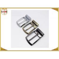 Cheap Custom Design Metal Belt Buckles For Men / Women  Zinc Alloy Material for sale