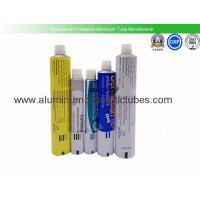 China Eco Friendly Aluminium Collapsible Tubes , Metal Squeeze Tubes For Cosmetics on sale
