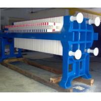 Quality High Capacity Chamber Filter Press , Wastewater Filter Press For Sludge Dewatering wholesale