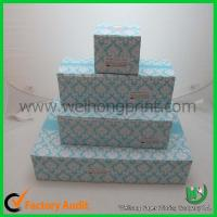 Quality cupcake cake boxes for 1-24 cupcake, standard size,CMYK or Pantong color wholesale
