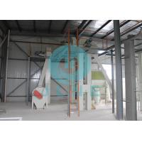 Quality Animal Feed Pellet Production Line / Manual Cattle Feed Pellet Making Machine wholesale