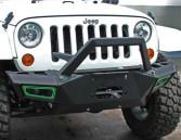 Quality Durable Steel 2007 Jeep Wrangler Bumpers / Front And Rear Bumpers CE Certificate wholesale