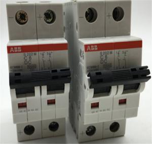 China S200 Series ABB Miniature Circuit Breaker 10kA MCB AC DC Applications on sale