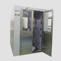 Buy cheap Air in shower for working staff air shower for ISO 8 clean room with double door from wholesalers