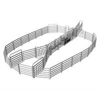 China 18 Horse Panel Cattle Yard HEAVY Duty Outdoor Animal Enclosure with Gate on sale